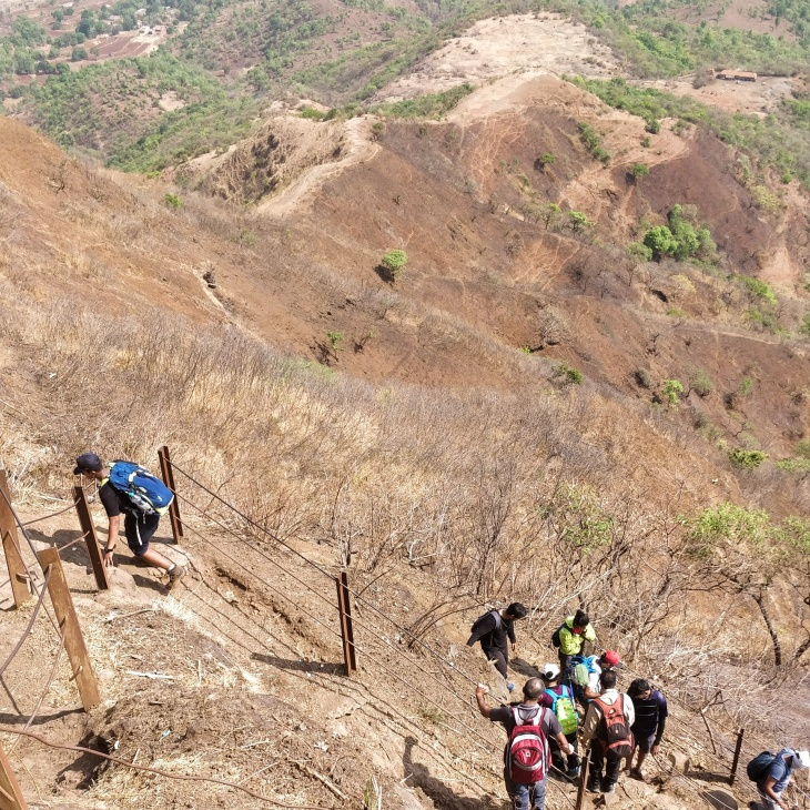 Trekking Trail- Rajgad Fort